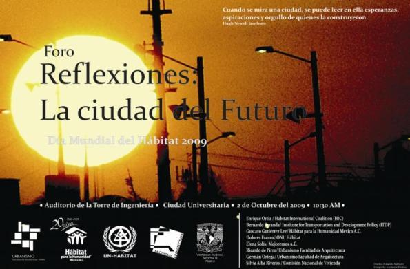 Foro Día Mundial del Hábitat 2009